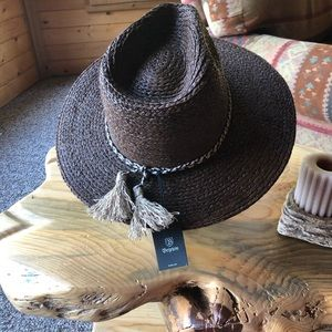 Brixton Booker Fedora Hat NWT  7 1/4 22in. 58cm